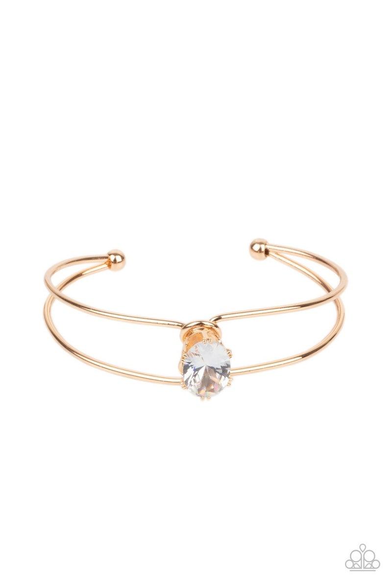 GLOW No Mercy Gold Bracelet - PREORDER
