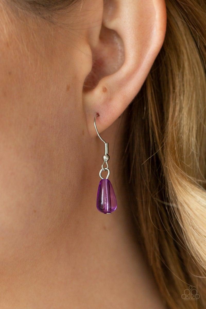 Midsummer Mixer Purple Necklace