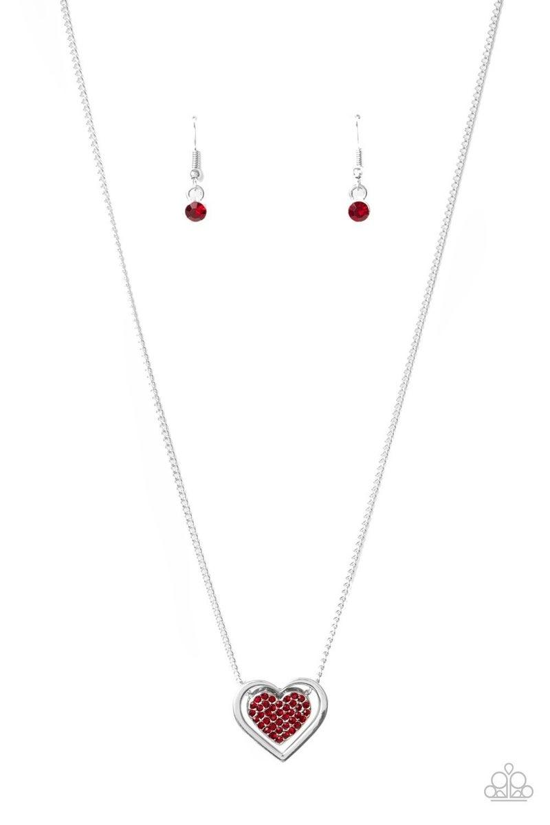 Game, Set, Matchmaker Red Necklace