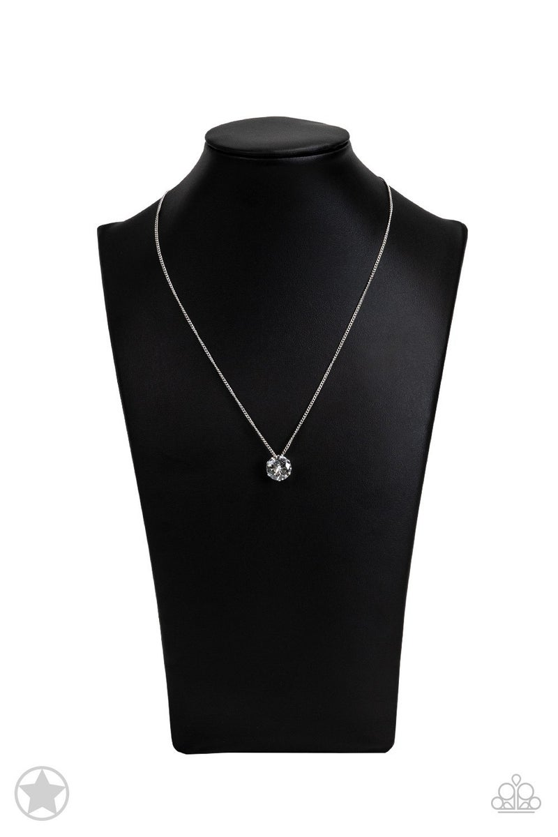 What a Gem White Blockbuster Necklace