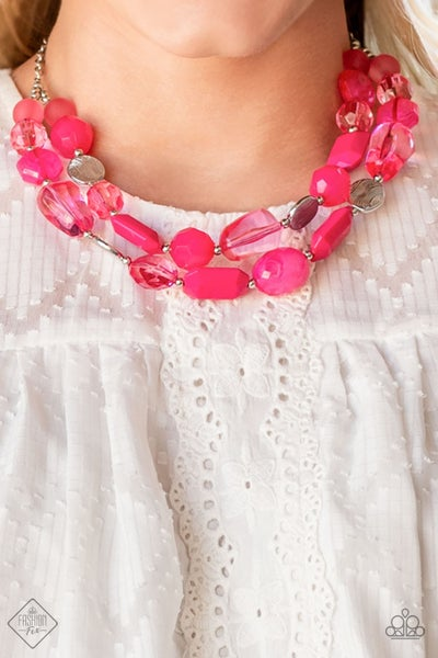 Oceanic Opulence Pink  Necklace - PREORDER August FF