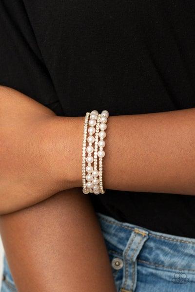 Starry Strut Gold Bracelet