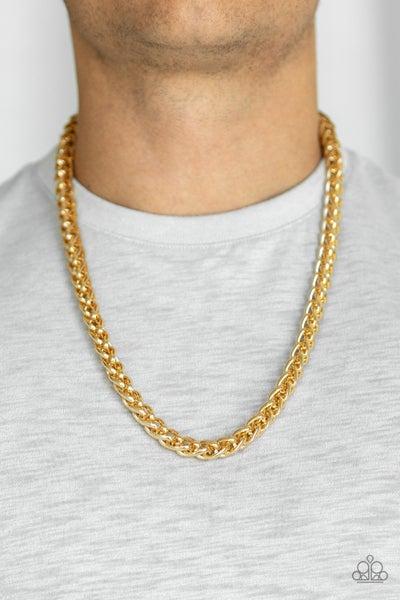 Big Talker Gold Urban Necklace