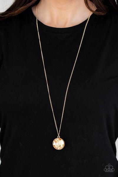 Dauntless Diva - Gold Necklace