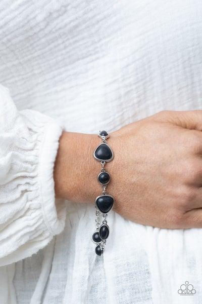 Eco-Friendly Fashionista Black  Bracelet