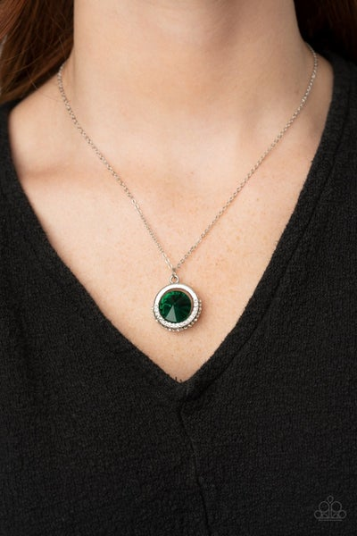 Trademark Twinkle Green Necklace