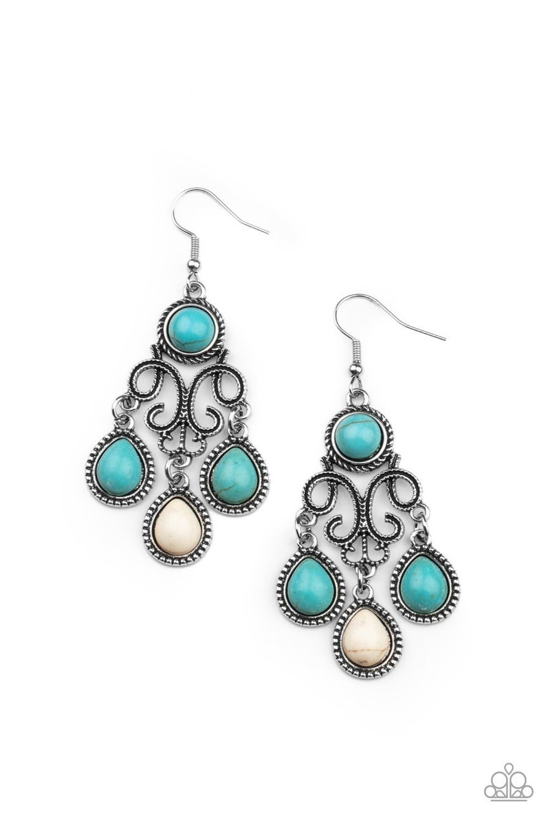 Canyon Chandelier Multi Earring - Sparkle with Suzanna