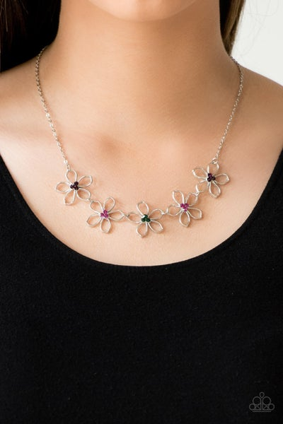 Hoppin Hibiscus Multi Necklace