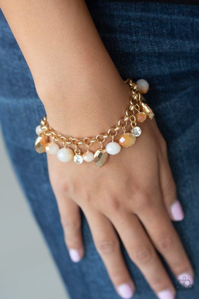 Dazzling Dazzle Gold Bracelet