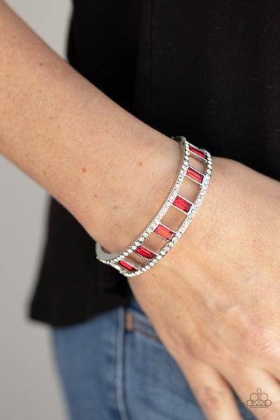 Industrial Icing Red Bracelet