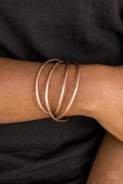 Take a CATWALK Copper Bracelet