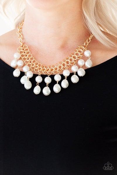 5th Avenue Fleek Gold Necklace