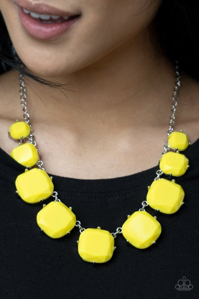 Prismatic Prima Donna Yellow Necklace - Sold Out!