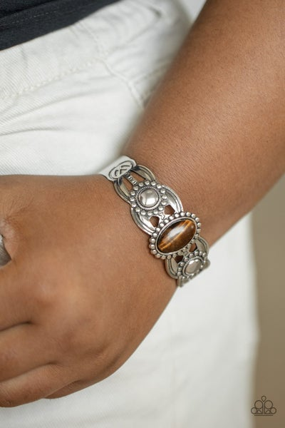 Solar Solstice Brown Bracelet