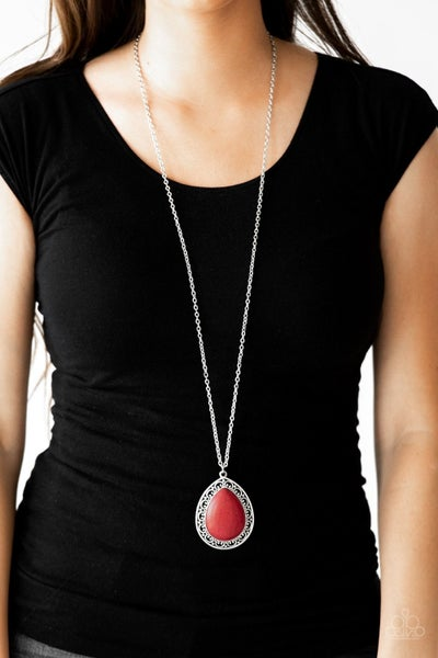 Full Frontier Red Necklace