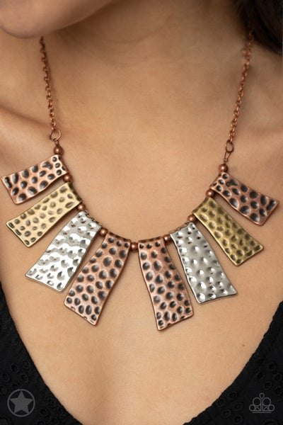 A Fan of The Tribe Copper Necklace