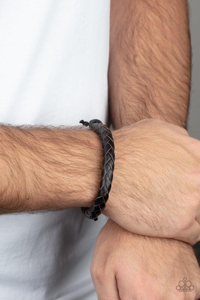 Homespun Comfort Brown Leather Urban Bracelet