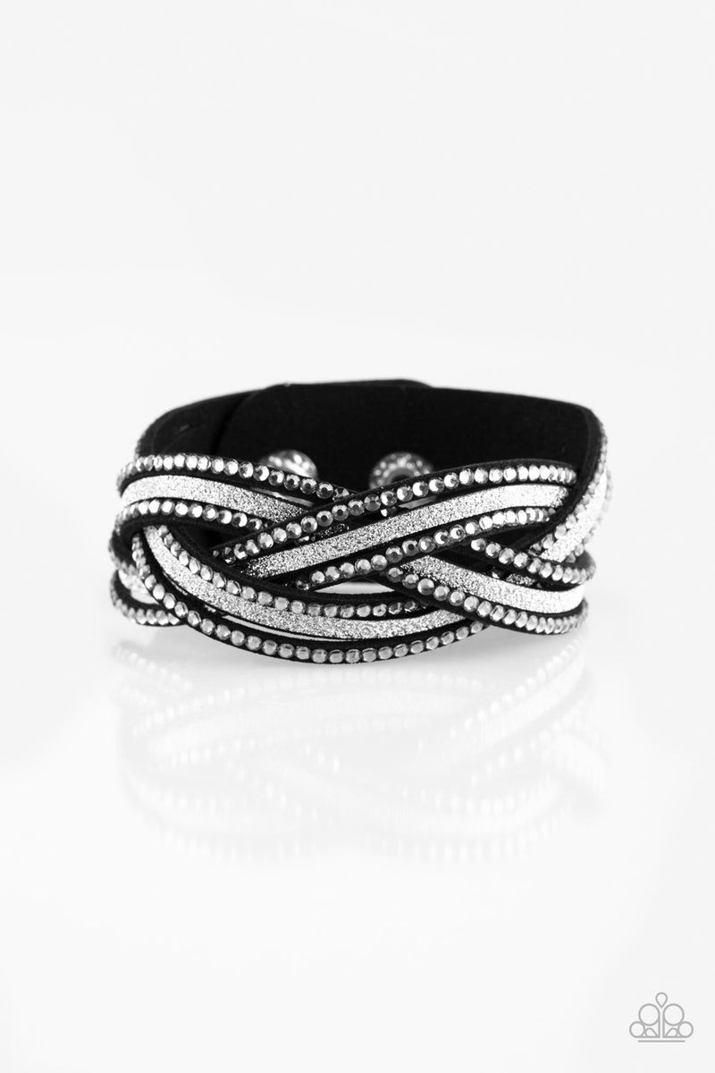 Girls Do it Better Silver Wrap - Sparkle with Suzanna