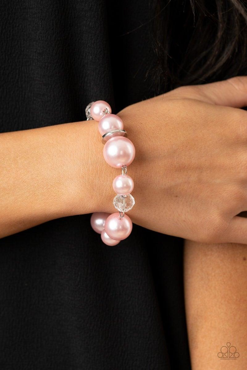 Glamour Gamble Pink Bracelet