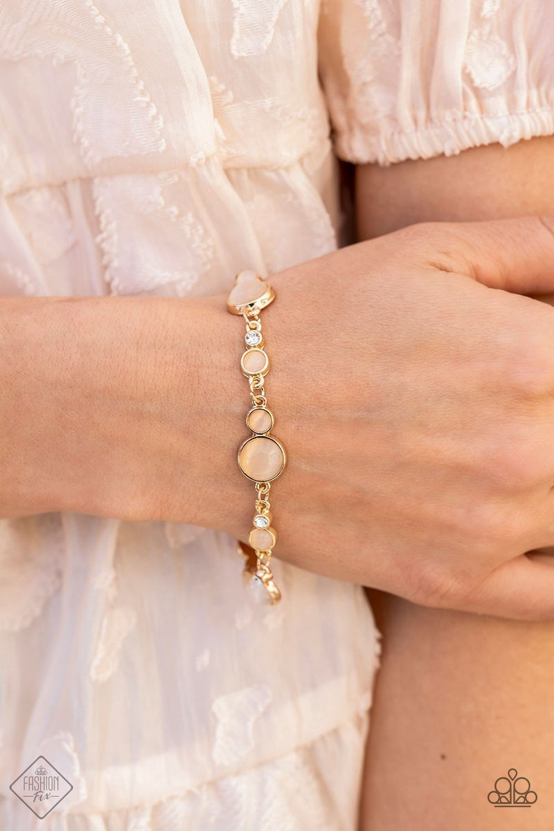 Storybook Beam Gold Bracelet - Fashion Fix