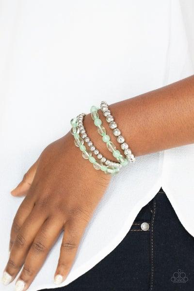 Delightyfully Disco Green Bracelet