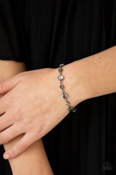Colorfully Cosmic Oil Spill Bracelet