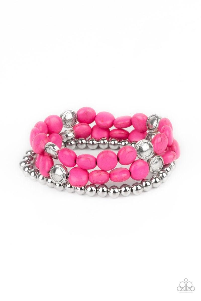 Desert Verbena Pink Bracelet - PREORDER
