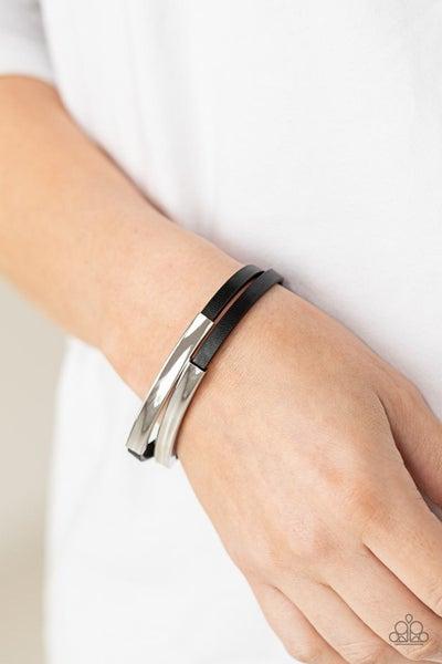 Dangerously Divine Black Bracelet