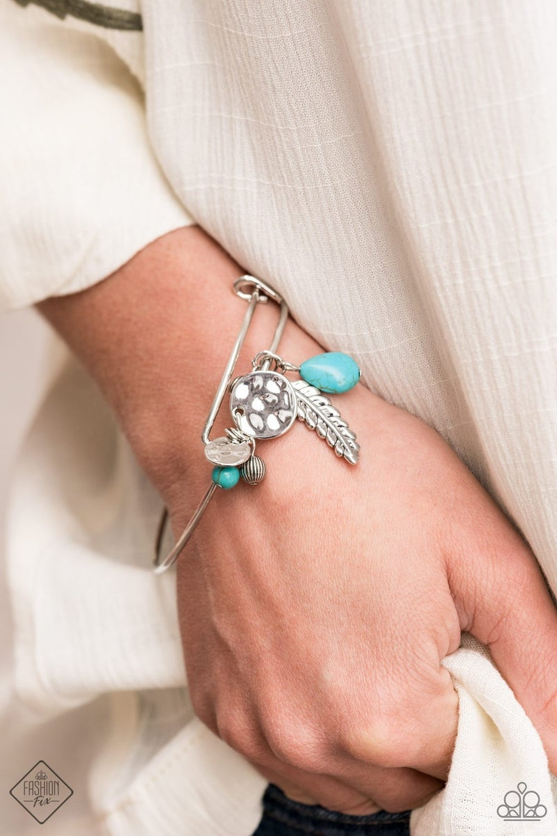Root and RANCH Blue Bracelet
