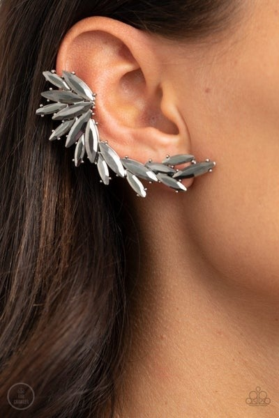 Because ICE Said So Silver Post Earring