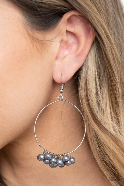 Things Are Looking Upscale Silver Earring