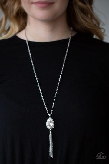 Elite Shine White Necklace