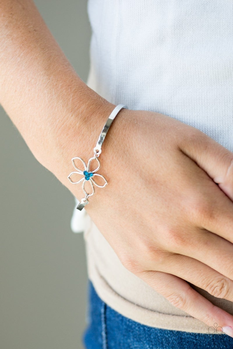 Hibiscus Hipster Blue Bracelet