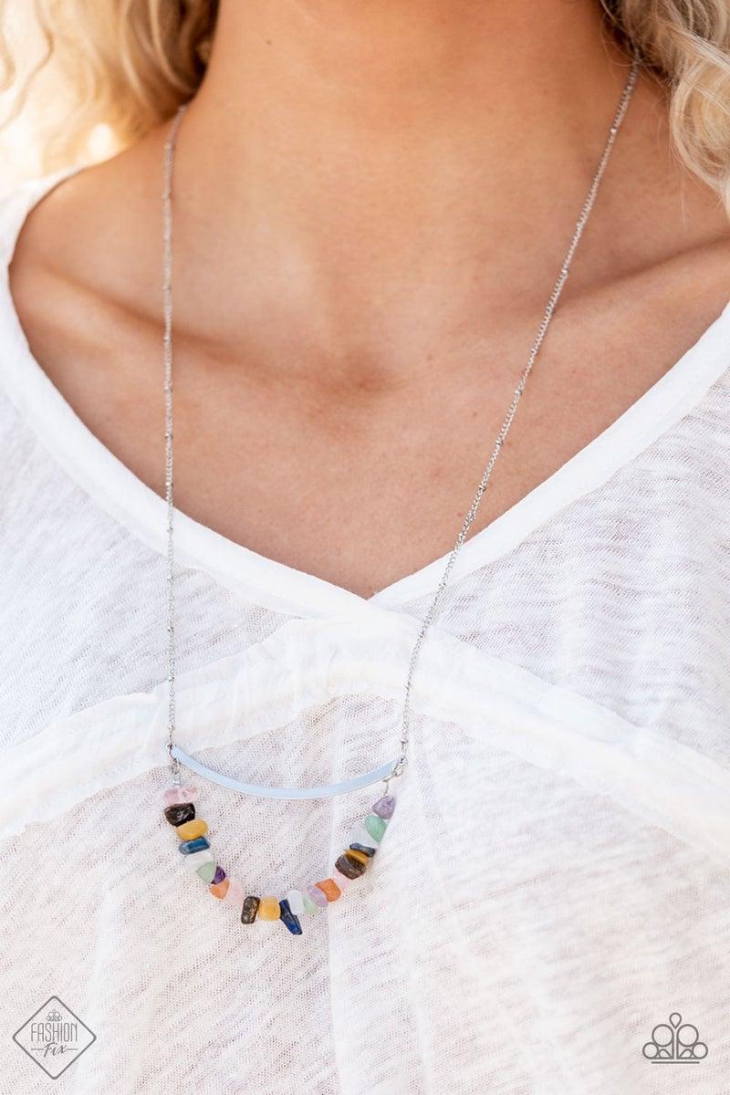 Pebble Prana Multi Necklace - Fashion Fix