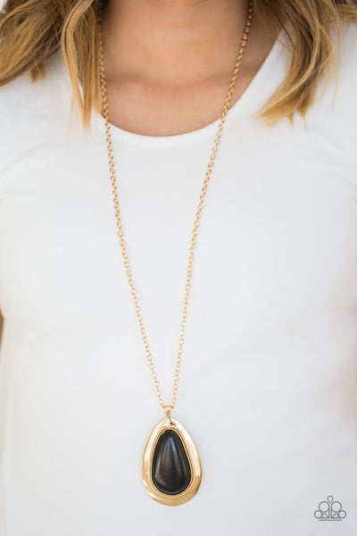 Badland to the Bone Gold necklace - Sparkle with Suzanna