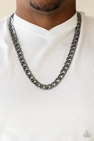 Undefeated Urban Black Necklace