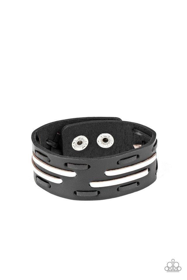 Cowboy Boot Camp Black Urban Bracelet