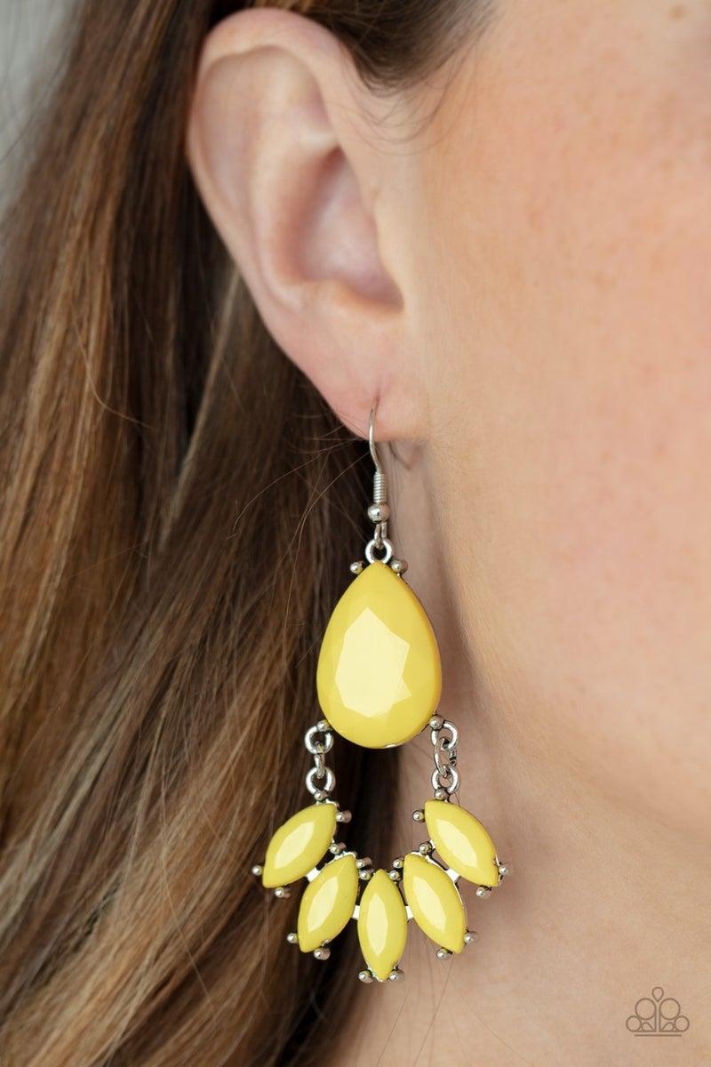 POWERHOUSE Call Yellow Earring