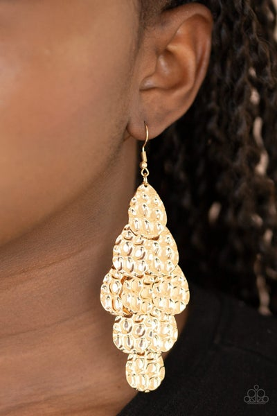 Instant Incandescence Gold Earring
