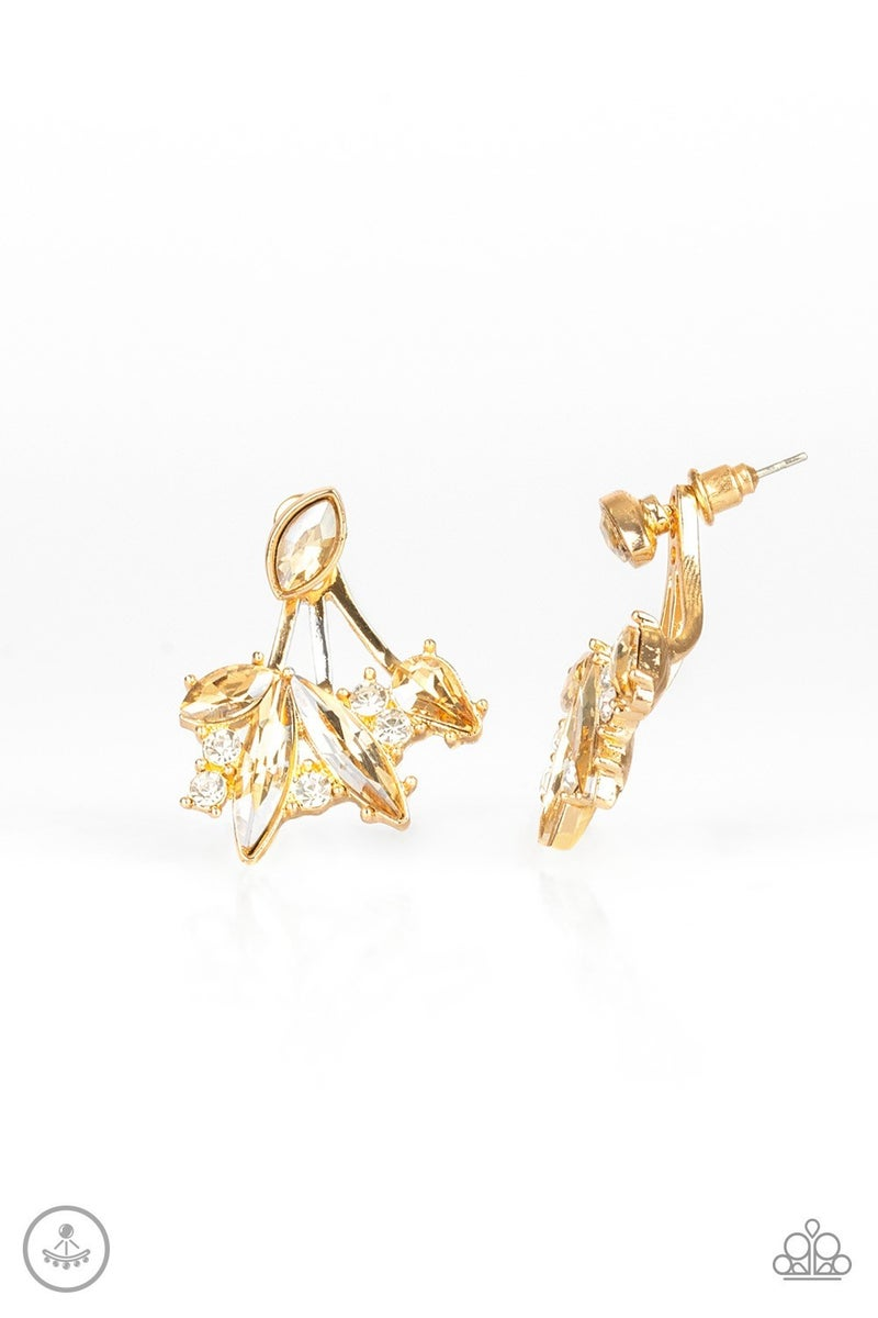 Deco Dynamite Gold Post Earring