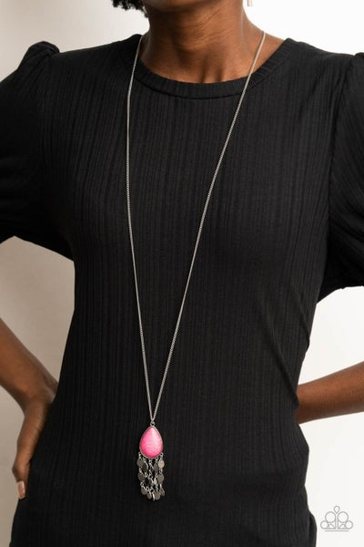 Musically Mojave Pink Necklace - PREORDER