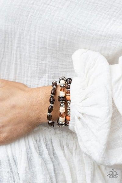 Belongs In the Wild Multi Bracelet - Sold Out!