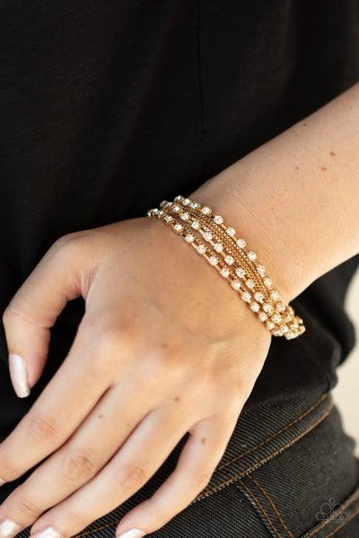 Thats a Smash! Gold Bracelet