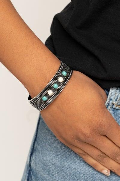 Quarry Quake Blue Bracelet