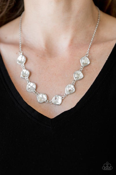 The Imperfectionist White Necklace
