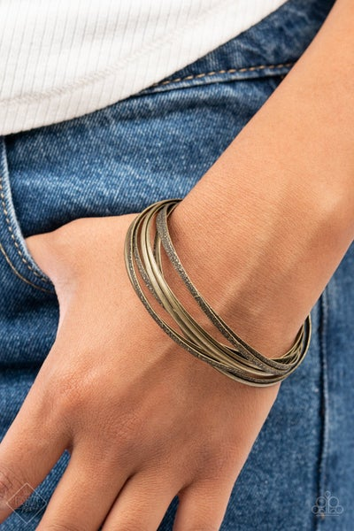 Suddenly Synced Brass Bracelets - PREORDER August FF