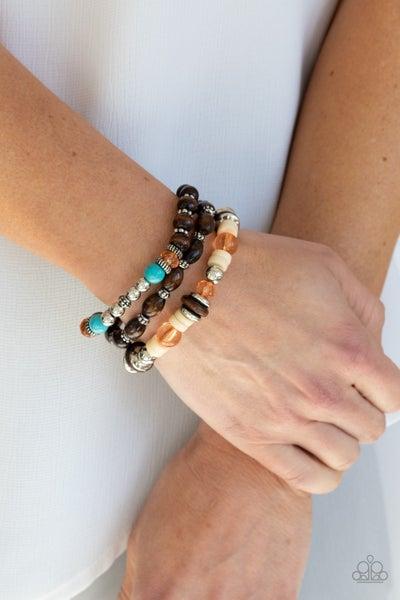 Belongs In The Wild Orange Bracelet