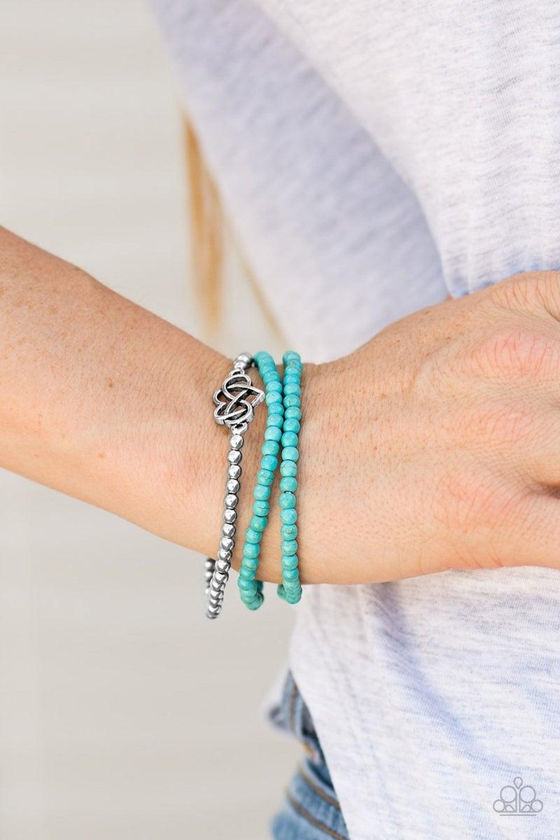 Collect Moments Blue Bracelet