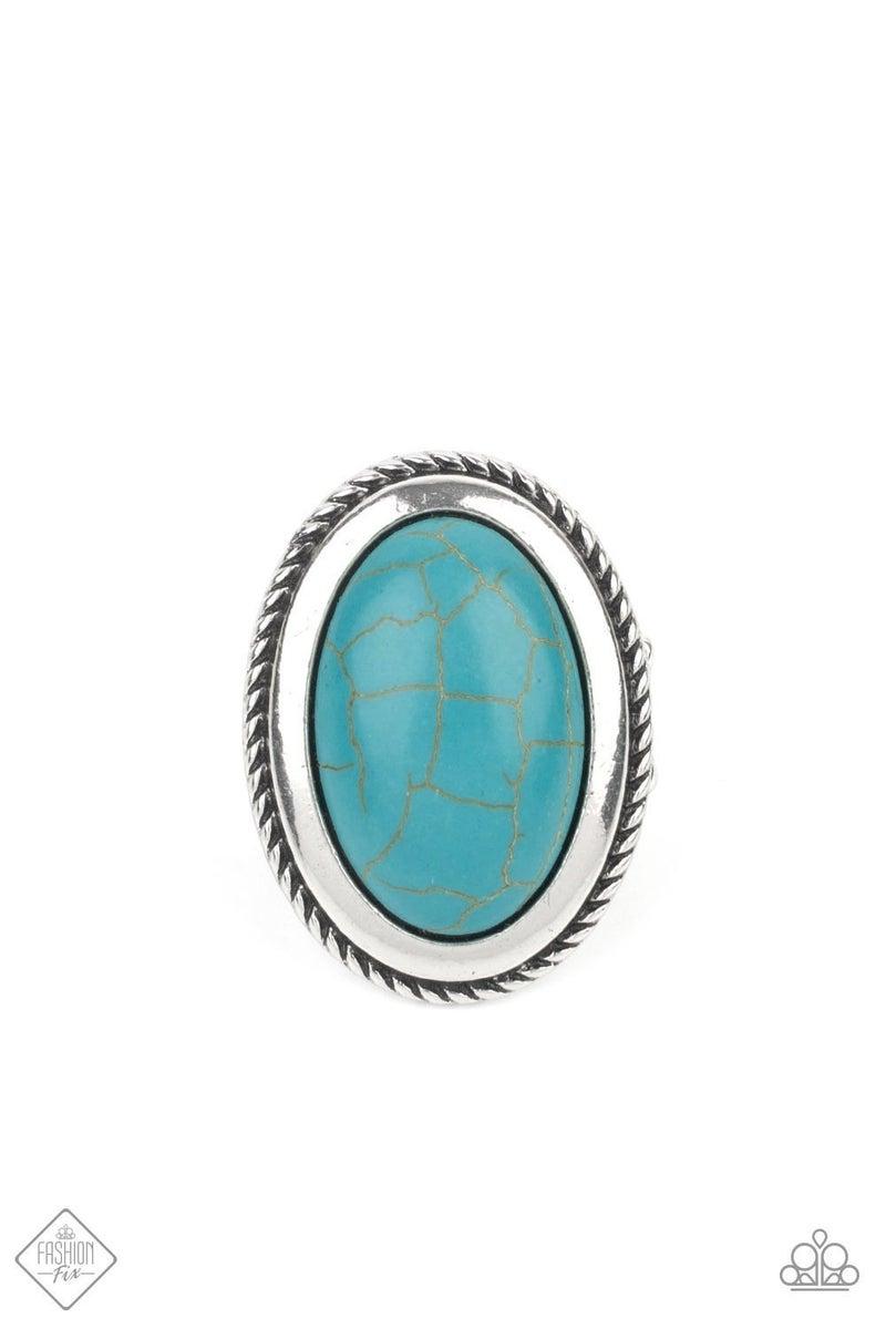 Canyon Sanctuary Blue Ring - Fashion Fix