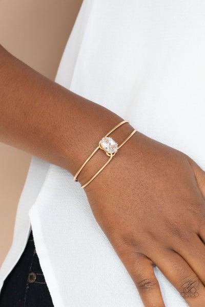 GLOW No Mercy Gold Bracelet